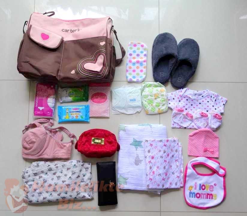 Doğuma Hazırlık İlk Hastane Çantası