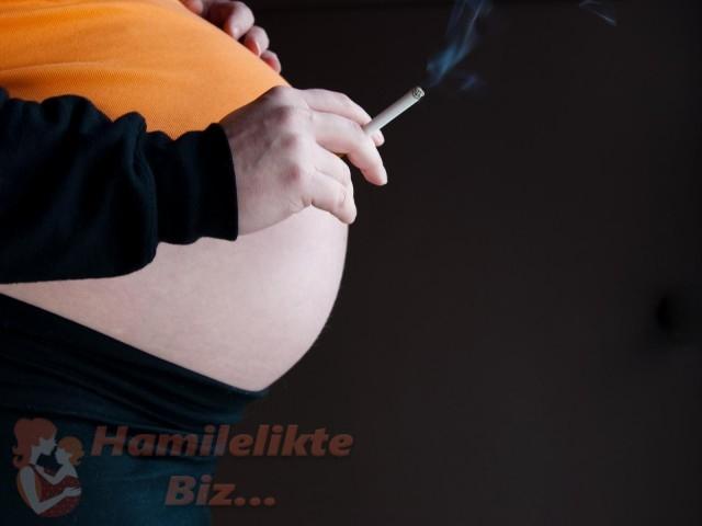 Hamilelikte ( Gebelikte ) Sigara Kullanmak